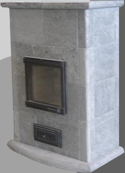 Wood masonry heater DE-500